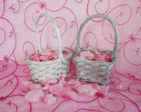 Flower Girl Basket ♥ Ceremonies by the Sea New Smyrna Daytona Beach Wedding Ceremony Décor