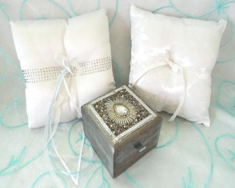 Ring Bearer Box or Pillow ♥ Ceremonies by the Sea New Smyrna Daytona Beach Wedding Ceremony Décor