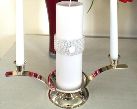 Unity Candle Stand ♥ Ceremonies by the Sea New Smyrna Daytona Beach Wedding Ceremony Décor