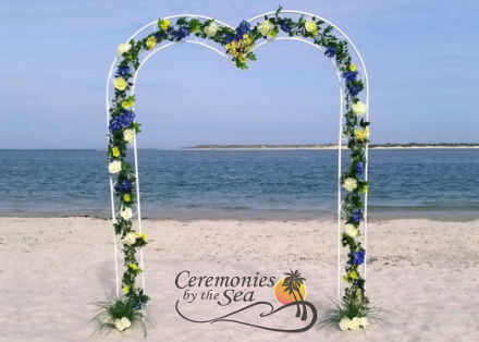Sweetheart Arch ♥ Ceremonies by the Sea, New Smyrna Beach, FL