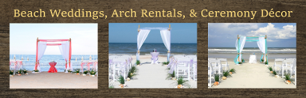 Beach Weddings & Ceremony Decor by Ceremonies by the Sea and A Lovely Engagement