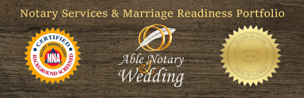 Notary Services by Ceremonies by the Sea and A Lovely Engagement
