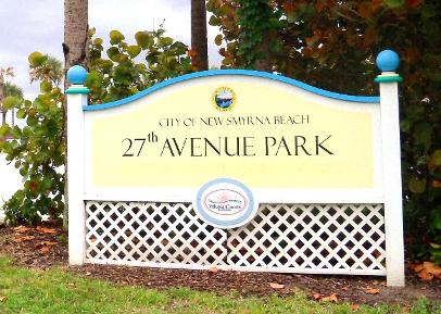 27th Avenue Park New Smyrna Beach Florida