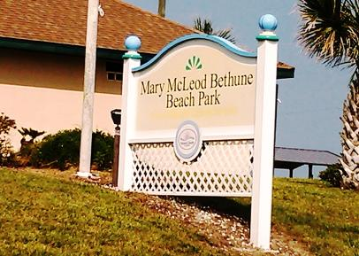Mary McLeod Bethune Beach Park New Smyrna Beach Florida