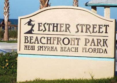 Esther Street Beachfront Park New Smyrna Beach Florida