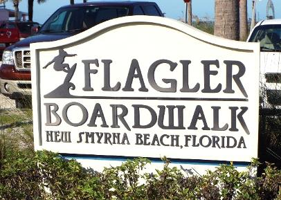 Flagler Boardwalk New Smyrna Beach Florida